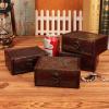 批发复古盒子 木质 欧式首饰盒 木制复古箱子道具 收纳储物工艺品