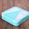 新款便当盒小清新上班族学生党正方形分格饭盒密封餐盒正方形饭盒