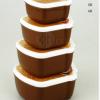 ZY2345-ZY2346 迷你保鲜盒4件套 迷你雪糕型保鲜盒(4个装)