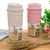 环保小麦秸秆随手杯创意塑料便携男女学生情侣咖啡办公室水杯子