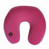 生产厂家定制按摩保健枕,泡沫粒子填充电动按摩枕,可加印LOGO