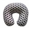 生产厂家供应泡沫粒子填充U型枕,牛奶丝印花布头枕,可加印LOGO