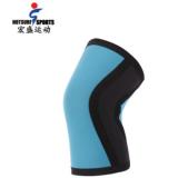 冬季运动户外用品潜水料护膝护肘 Neoprene举重护具护膝定制批发