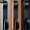 万事威全自动密码锁 家用防盗门智能电子锁 半导体厂家直销指纹锁