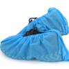 一次性无纺布鞋套 35g蓝色绿色 印花防滑 宾馆 工厂 无尘室
