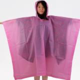 新款高品质加厚CPE塑料雨衣 成人连体雨衣 创意方形雨披 徒步雨披