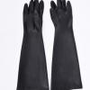 加厚60cm威蝶耐酸碱工业手套 橡胶防化手套 乳胶手套