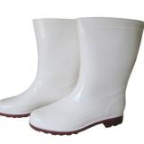 新款中筒雨鞋工作鞋防水防滑食品级雨鞋安全劳保鞋耐酸碱雨靴
