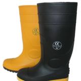 厂家直销钢头钢板雨靴耐油耐酸防砸防刺水鞋 钢包头工矿雨鞋