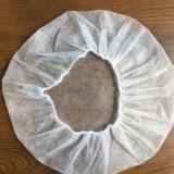 一次性帽子生产厂家 无纺布圆帽工作餐饮加工 防尘蘑菇圆帽
