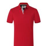 2018年夏季翻领广告衫工作服短袖文化衫定做班服定制T恤印刷logo