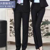 2019新款男士西装裤免烫上班男女同款正装直筒西裤商务休闲工裤