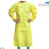 批发微护佳MC3000带袖防化围裙 耐高浓度酸碱围裙 实验室防护围裙