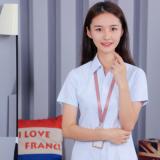 新款夏装短袖衬衫女士韩版修身时尚收腰中青年商务男女同款职业