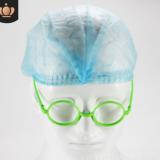 专业生产无纺布条形帽厂家 一次性无纺布头套/蘑菇帽/防尘帽