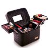 大容量韩国化妆包多功能小号方袋便携手提多层化妆品收纳盒简约箱