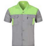 工作服定制劳保服男女套装夏季短袖透气汽修工作服薄款厂服工程服