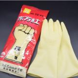 东方红乳胶手套加厚耐用牛筋乳胶手套橡胶防水家务洗碗清洁手套