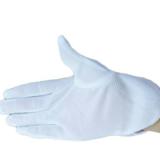 防静电手套点胶防滑点塑带点面胶红边防静电点珠手套多拼接指手套