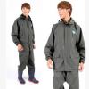 姜太公双层针织分体套装雨衣 加厚耐用PVC防水透气雨衣 徒步骑行