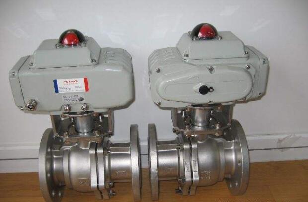 法兰电动球阀Q941F-16 电动法兰球阀