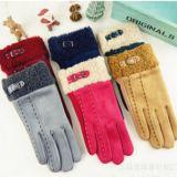 供应2015冬季新款手套 女