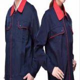 供应工作服套装男士上装女上衣长袖汽修车机械工地工厂特价劳保服