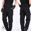 批发男士黑色保安裤子作训裤子多兜工作裤劳保裤子军迷战术裤