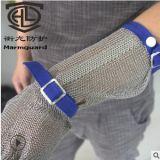 钢丝裁切防割金属手套 不锈钢安全防护手套 屠宰剔骨钢丝手套