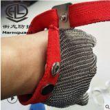五指防切割电锯手套 多功能园艺防护钢丝手套 工业耐磨裁床手套