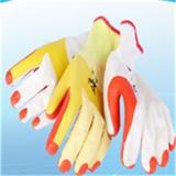 厂家直销劳保手套防割手套耐磨小帮手胶片手套防护橡胶耐高温手套