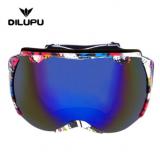 批发亚马逊爆款 滑雪镜防风沙PC镜片户外眼镜运动滑雪护目镜
