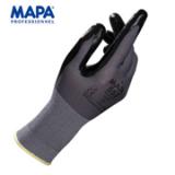 法国MAPA Ultrane 553 13针工作手套 耐磨防滑透气 丁腈涂层手套