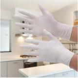 丁晴手套 净化无粉9寸一次性白色丁腈手套防油耐磨防酸碱麻指