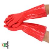 厂家批发博尔格加绒胶棉一体棉手套防寒保温乳胶手套量大从优