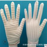 防静电横纹PU手套 防静电白PU手套 无硫横纹白PU手套 透明PU手套