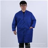 劳保工作服 搬运工大褂长大褂耐磨防尘服秋冬成人罩衣蓝大褂印刷