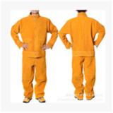 厂家批发直销牛皮电焊服 纯皮套装焊工服 焊接劳保工作电焊服