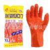 288东亚807止滑手套 耐油耐酸碱工业劳保手套 PVC888防滑手套宣贺