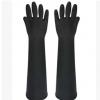 威蝶中厚型60cm耐酸碱乳胶手套防滑耐磨防化学耐酸碱劳保手套