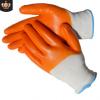 黄胶手套劳保手套 防滑纯胶耐磨防油水 建筑搬运 pvc全挂防护手套