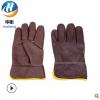 焊工手套批发耐磨头层牛皮柔软隔热耐高温劳保工业手套厂家批发