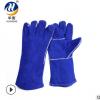 劳保电焊手套牛皮耐磨耐高温劳保手套建筑搬运机械加工防护手套