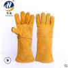 厂家直销电焊手套牛皮耐磨耐高温防护 气焊氩弧焊劳保防护手套