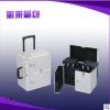 强力推荐 新款大号化妆箱 专业拉杆化妆箱 铝合金化妆收纳箱