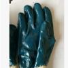 纯棉斜纹绒布浸马来西亚丁睛胶耐油耐磨手套