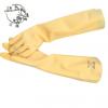 三碟耐酸碱橡胶工业防腐手套加长加厚防水耐油耐酸碱化工防化手套