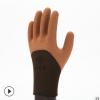 防滑丁腈手套浸胶咖啡乳胶手套园林烧烤手套加强指线手套厂家直销