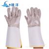 厂家直销 头层牛皮电焊手套 耐磨柔软家私皮焊工手套 劳保手套