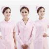 批发医护面料大褂女护士连体工装长袖美容服牙科口腔医院工作服装